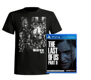 Kit The Last of Us: Part II - PS4 + Camiseta Exclusiva