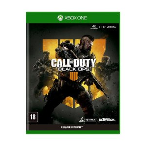 Jogo Call of Duty: Black Ops 4 - Xbox One (Semi novo)