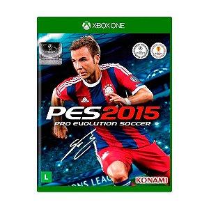 Jogo Pro Evolution Soccer 2015 - Xbox One