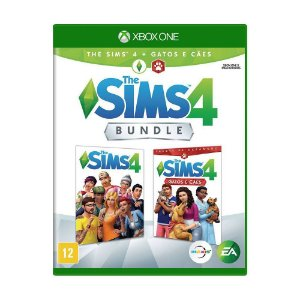 Jogo The Sims 4: Gatos e Cães (Bundle) - Xbox One