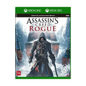 Jogo Assassin's Creed Rogue - Xbox 360 e Xbox One