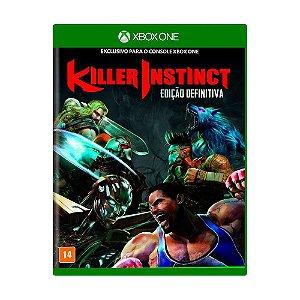 Jogo Killer Instinct (Edição Definitiva) - Xbox One (Seminovo)