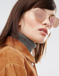 Óculos Ray ban Octagonal Rose Linha Premium