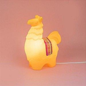 Luminária Lhama - Amarelo