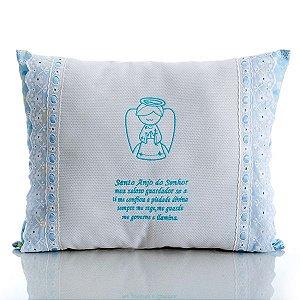 Travesseiro Santo Anjo Azul