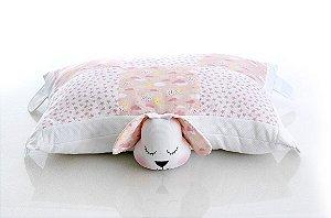 Travesseiro Cachorro Rosa
