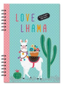Planner Compacto Mensal Lhama