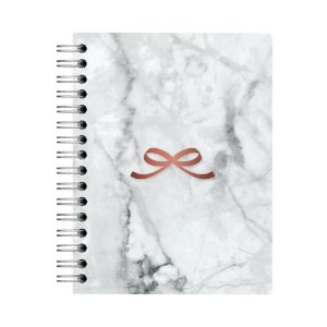 Planner Pink Stone Mrm A5 Wire-o