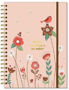 Caderno Universitário 96 fls Jardim