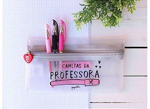 Estojo Canetas da Professora