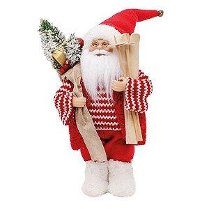 Noel Decorativo em Pé com Ski