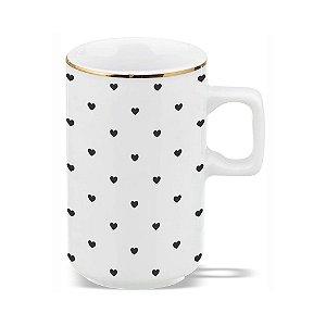 Xícara Café Coração 80ml