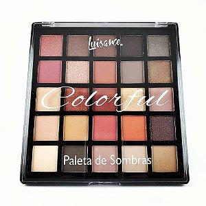 Paleta de Sombras Colorful Luisance