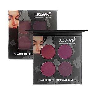 Quarteto de Sombras Matte 04 Ludurana
