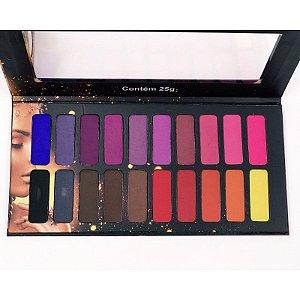 Paleta de Sombras com 20 cores Ludurana