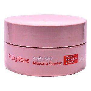 Máscara Capilar Argila Rosa - Ruby Rose