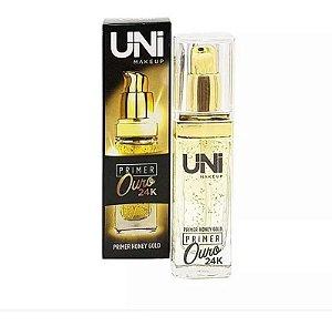 Primer Facial Ouro 24K - Uni MakeUp