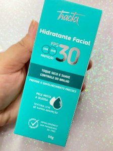 Hidratante Facial FPS 30 Pele Mista e Oleosa - Tracta