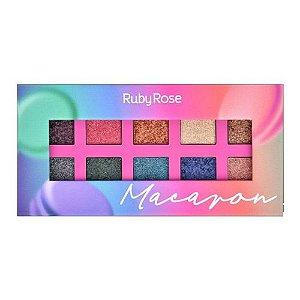 Paleta de Sombras Macaron - Ruby Rose