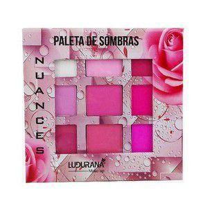 Paleta de Sombras Coleção Nuances - Ludurana