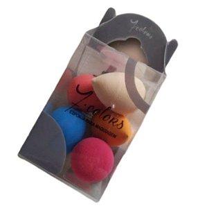 Kit Esponjas para Maquiagem- 7 Colors