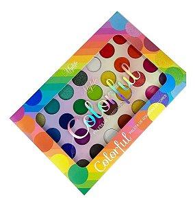 Paleta de Sombras Colorful - Mylife