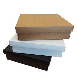 Caixa para Presente Luxo - 26,5x21,5x7,5cm - 01 unidade - Rizzo Embalagens