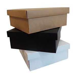 Caixa para Presente Luxo - 19,5x19,5x8,5cm - 01 unidade - Rizzo Embalagens