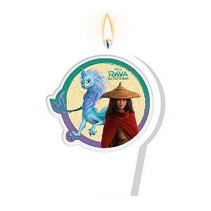 Vela Plana Adesiva Festa Raya e o Último Dragão - 01 unidade - Regina - Rizzo Embalagens