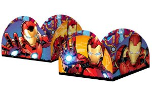 Porta Fominha para Doces Festa Homem de Ferro - 50 unidades - Regina - Rizzo