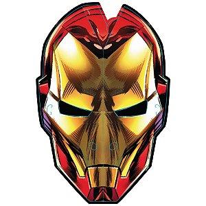 Máscara de Papel Festa Homem de Ferro - 06 unidades - Regina - Rizzo