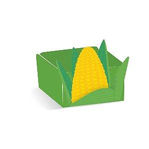 Forminha Cachepot Milho Festa Junina - 24 unidades - Cromus - Rizzo Embalagens