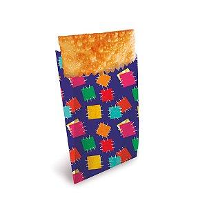 Saquinho de Papel para Pastel Festa Junina - 50 unidades - Cromus - Rizzo Embalagens