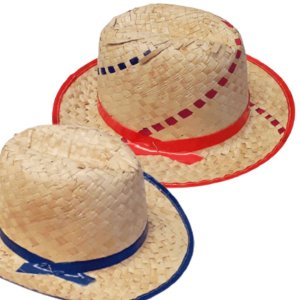 Chapéu de Palha Italiano - 01 Unidade - Rizzo Festas