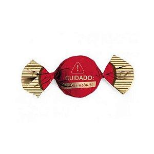 Papel Trufa 14,5x15,5cm - Produto Viciante Vermelho - 100 unidades - Cromus - Rizzo