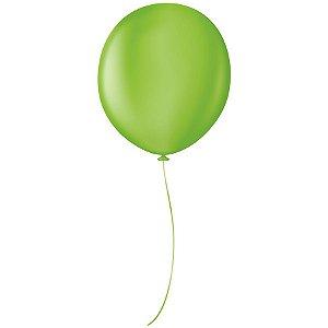 """Balão Profissional Premium Uniq 16"""" 40cm - Verde Citrico - São Roque - Rizzo Embalagens"""
