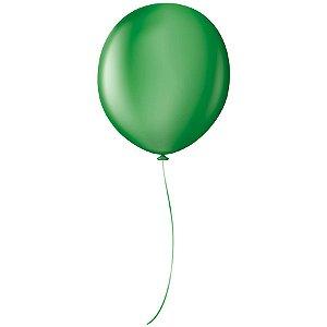 """Balão Profissional Premium Uniq 16"""" 40cm - Verde Grama - São Roque - Rizzo Embalagens"""