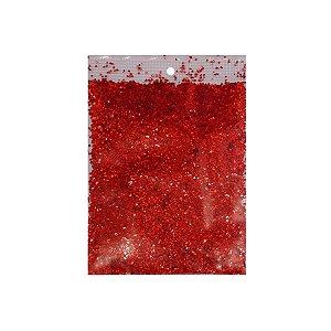 Confete Metalizado para Balão 15g - Vermelho - Artlille - Rizzo Balões