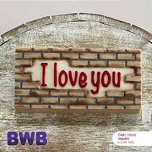 Forma de Acetato Tablete I Love You Especial Cód. 10166 BWB Rizzo