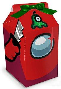 Caixa Milk Festa Among Us - 08 unidades - Festcolor - Rizzo Embalagens