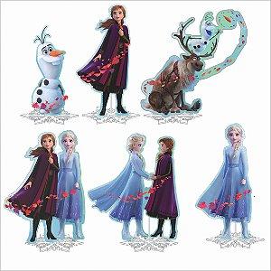 Kit Enfeite Impresso em EVA - Disney - Frozen 2 - 01 unidade - Piffer-  Rizzo Embalagens