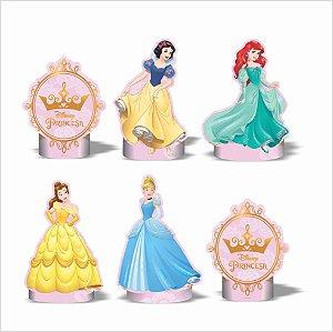 Kit Enfeite Impresso em EVA - Disney Princesas - 01 unidade - Piffer-  Rizzo Embalagens