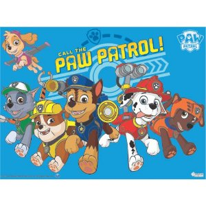 Painel Grande TNT Patrulha Canina -1,40x1,03cm - Piffer - Rizzo Embalagens
