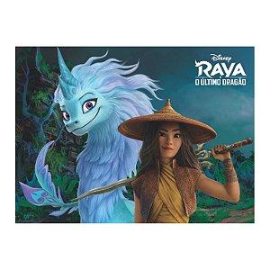 Painel Grande TNT Raya e o Último Dragão -1,40x1,03cm - Piffer - Rizzo Embalagens