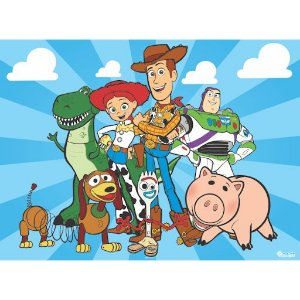 Painel Grande TNT Toy Story -1,40x1,03cm - Piffer - Rizzo Embalagens