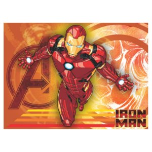 Painel Grande TNT Vingadores - Homem de Ferro -1,40x1,03cm - Piffer - Rizzo Embalagens