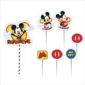 Topo de Bolo Impresso - Mickey - 01unidade - Piffer - Rizzo Embalagens