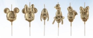 Vela Turma Mickey Dourada Disney Silver Festas Rizzo
