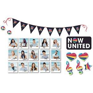 Kit Painéis Impresso em EVA - Now United - 01 unidade - Piffer-  Rizzo Embalagens