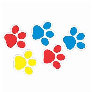 Aplique Imp em EVA - Patrulha Canina - Patinhas - 06 unidade - Piffer - Rizzo Embalagens